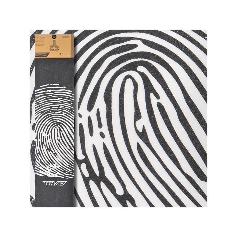 Triad Clear Cast Griptape Finger Print