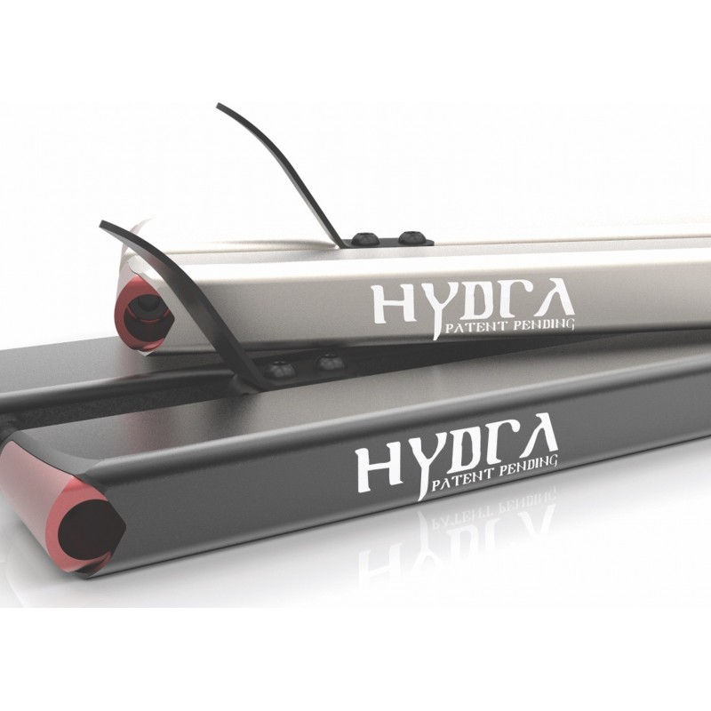 "Aztek Hydra 19.5/"" Stunt Scooter Deck Black"