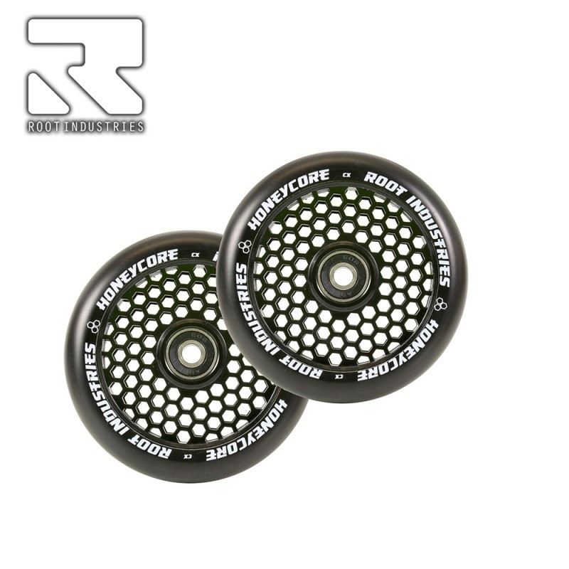 Root Honeycore Wheels Black PU