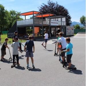 Skateboard Circus Chilli