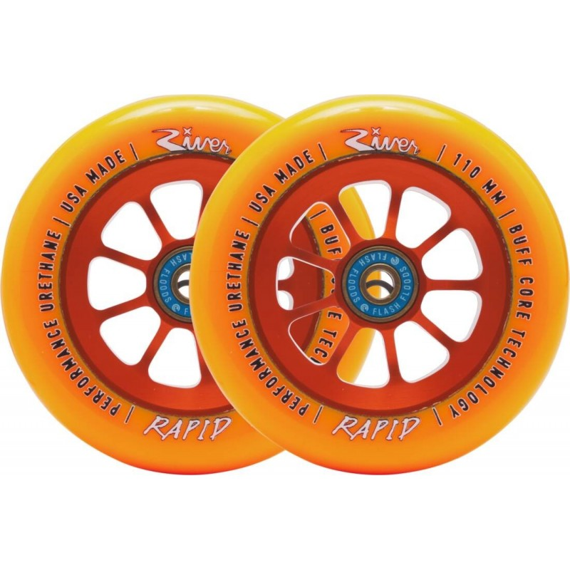 River Orange Wheel