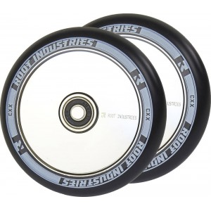 Root Air Wheels Black 120mm