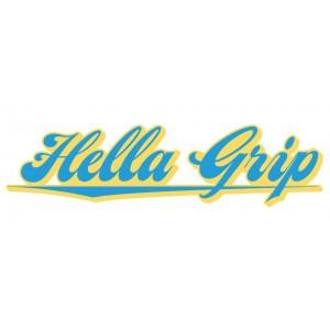 Hella Grip Logo Sticker