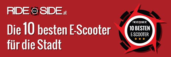 10 beste e-scooter