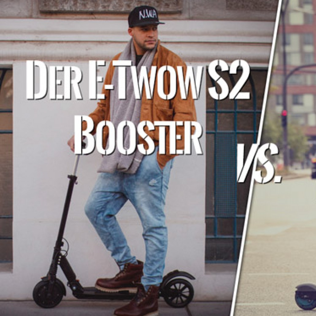 e scooter vergleich e twow s2 booster vs egret one s. Black Bedroom Furniture Sets. Home Design Ideas