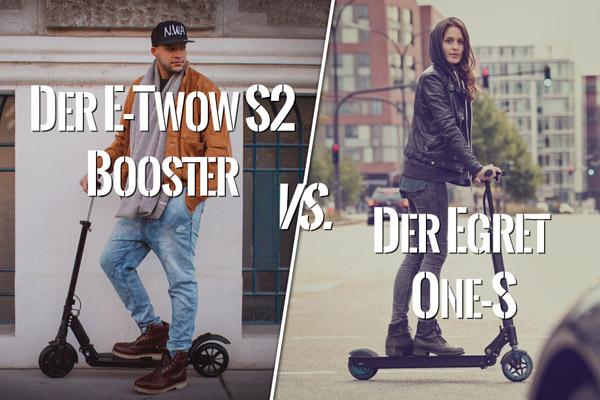 E-Twow S2 Booster vs Egret One-S
