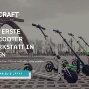 E-Craft E-Scooter Werkstatt