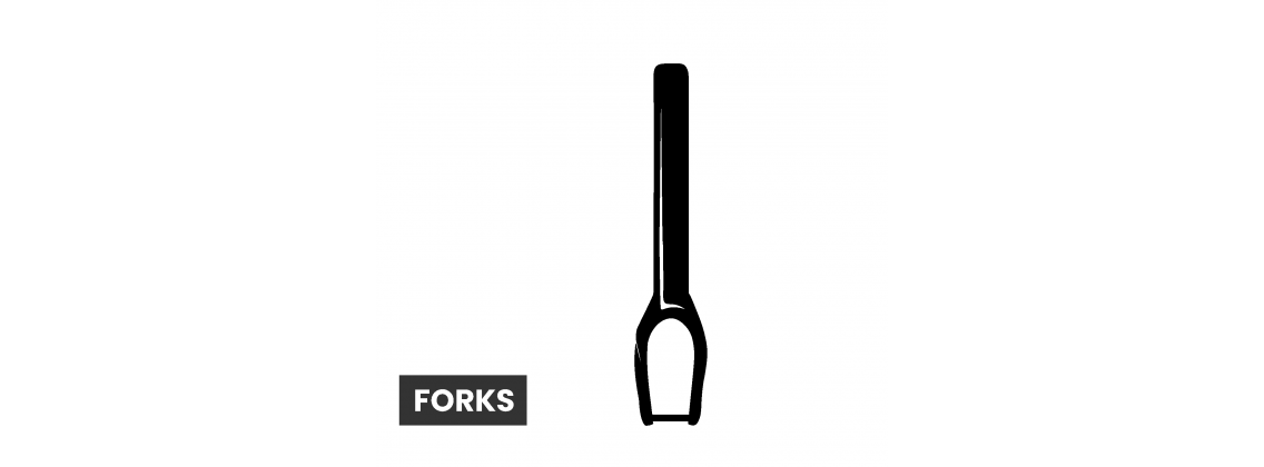 Scooter Forks - Hol dir deine Scooter Fork bei RideSide Scooters